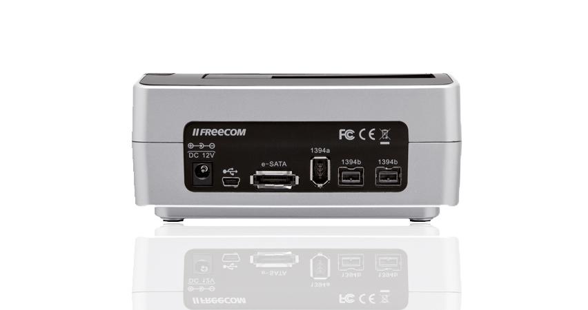Freecom Hard Drive Dock Quattro